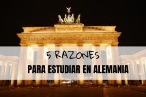 razones para estudiar en alemania